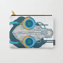 Tune of Teal Carry-All Pouch
