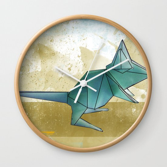 paper mouse Wall Clock