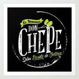 Don Chepe Art Print