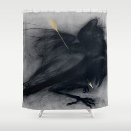 Death of insight Shower Curtain