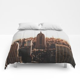 Empire State Building Comforters