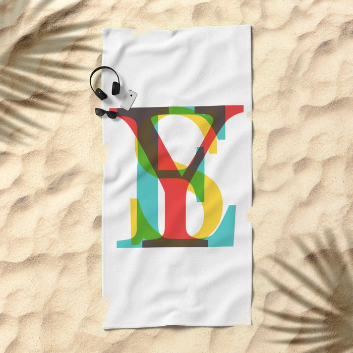 YES Beach Towel