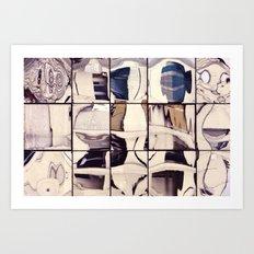 Pale Reflections Art Print