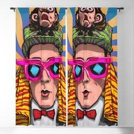 Magic Glasses Blackout Curtain