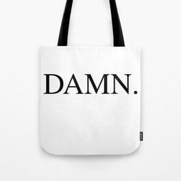 DAMN. Kendrick Lamar Tote Bag