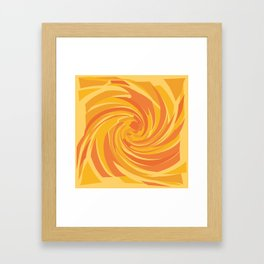 Agitation Framed Art Print