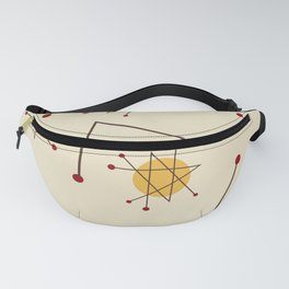 Atomic Era Autumn Fanny Pack