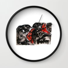Crow Mouth Wall Clock
