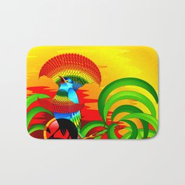 Paradise Bird Bath Mat