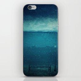 blue city underwater iPhone Skin