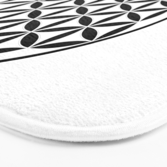 Pure Energy The Flower of Life Bath Mat