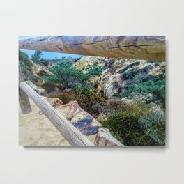 So Torrey California by Reay of Light Metal Print