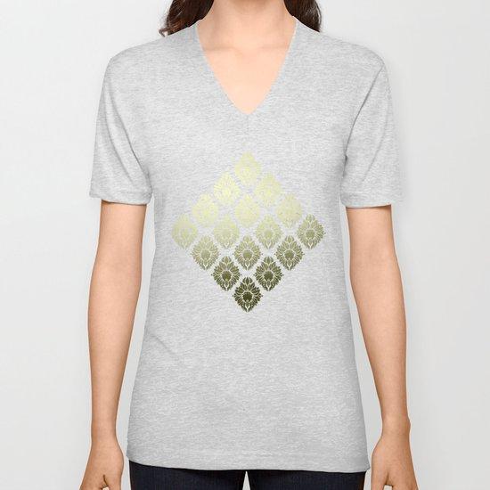 """Olive Damask Pattern"" by marcanton"