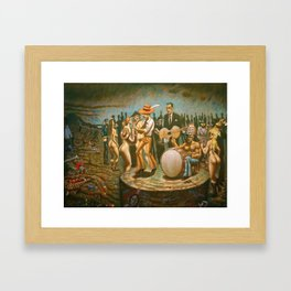 """Westward Ho"" Framed Art Print"