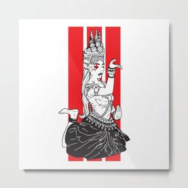 Nymph Dancer Metal Print