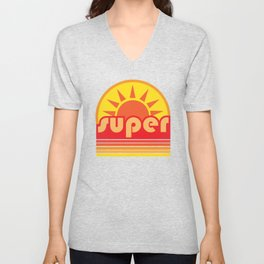 super duper Unisex V-Neck