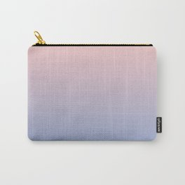 Ombre   Rose Quartz and Serenity   Pantone Colors of the Year 2016 Carry-All Pouch
