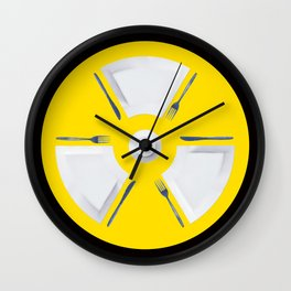 Polluted - Dinner Time Wall Clock