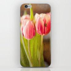 The Tulip and the Ladybug iPhone & iPod Skin