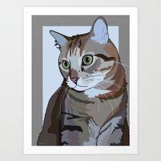 Sophie Cat Art Print