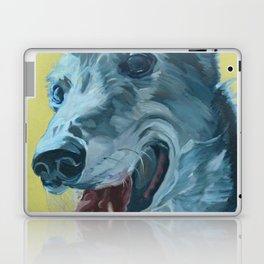 Dilly the Greyhound Portrait Laptop & iPad Skin