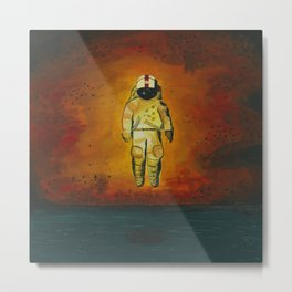 Brand New Deja Entendu Metal Print