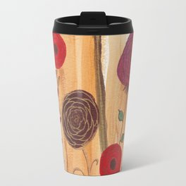 Fall Floral I Travel Mug