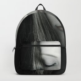 beautiful woman Backpack