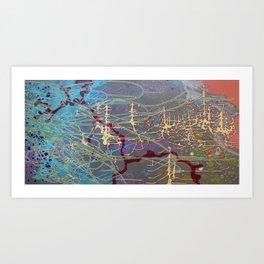 O.B.E to Mars Art Print