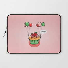 Party Cupcake Laptop Sleeve