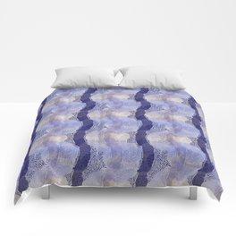 Coral Lines Comforters