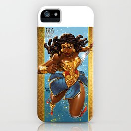 Nubia-WW of the Orishas iPhone Case
