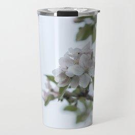 Apple tree spring blossoms Travel Mug