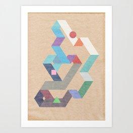 Parallelogram: Harmony Art Print