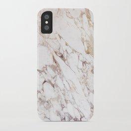 White Onyx Marble iPhone Case