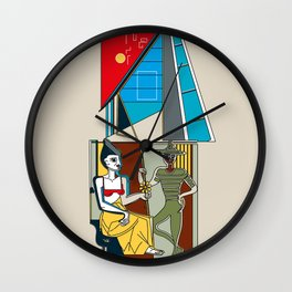 Edificio San Gabriel -Detail- Wall Clock