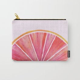 Sunny Grapefruit Watercolor Carry-All Pouch