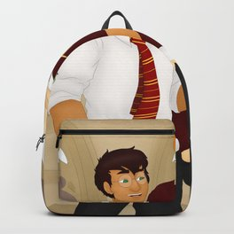 The Golden Trio Backpack
