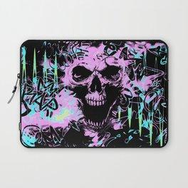 Alternative Skull Graffiti Laptop Sleeve