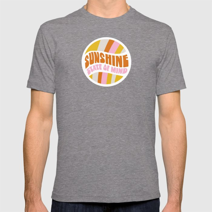 sunshine state of mind, type T-shirt