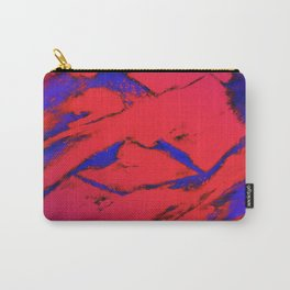 Fractured anger red Carry-All Pouch