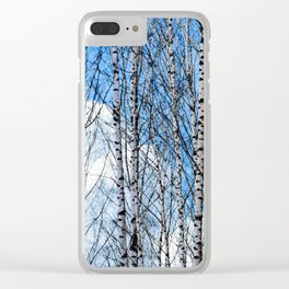 Birch Trees. Early Spring Clear iPhone Case