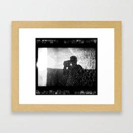 Shooting into the Sun Framed Art Print