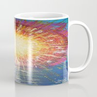 kindle Mugs featuring :: OneSun :: by :: GaleStorm Artworks ::