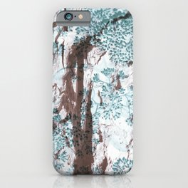 Split Wood Textile iPhone Case