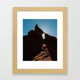 Arch Light Framed Art Print