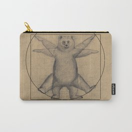 The Vitruvian Bear Carry-All Pouch