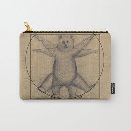 The Vitruvian Bear Carry-All Pouch