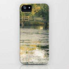 A Monet Landscape iPhone Case