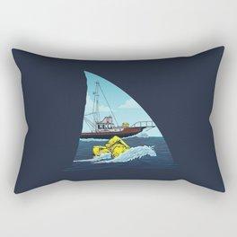 Jaws: The Orca Rectangular Pillow